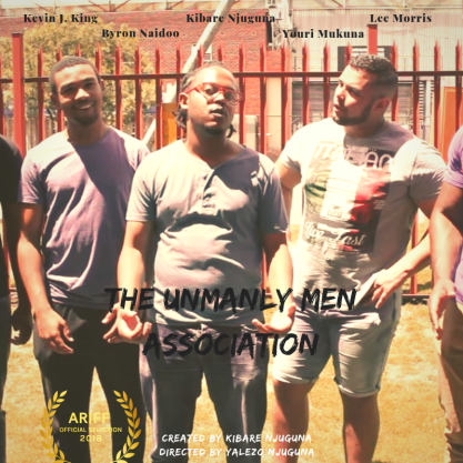The Unmanly Men Association Poster