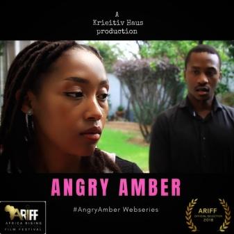 Angry Amber Poster