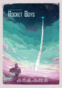 Rocket Boys Poster
