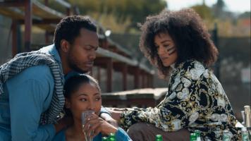 Queen Sono, Pearl Thusi, Enhle Mbali and Khathu Ramabulana